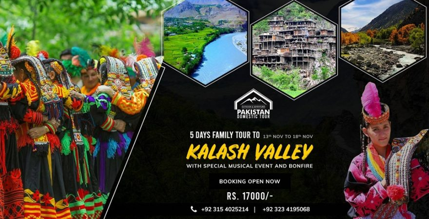 5 Days Cultural Tour to Kalash Valley