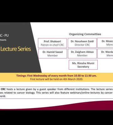 Cancer Lecture Series