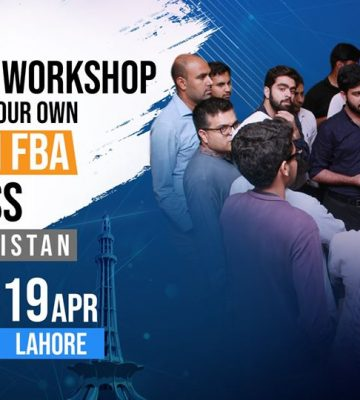 Build Amazon FBA Business from Pakistan