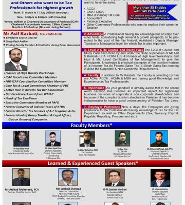 Level 2 Certificate of Tax Management Course