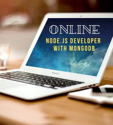 Node.js Developer with MongoDB Free Workshop [online]