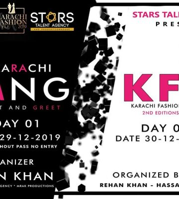 "Karachi Fashion STYLE ""kfs19"" 2ND Edition"