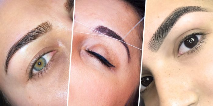 Eyebrow 4 Days As Before Wedding or Events