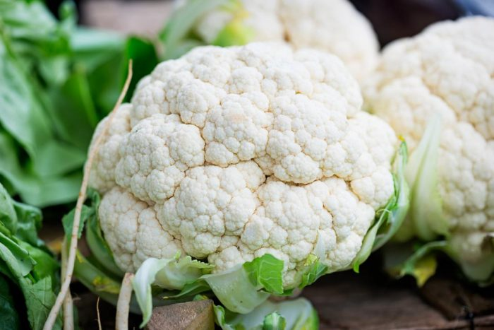 Cauliflower Zero Calorie Foods for Weight Loss