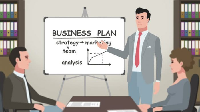 Make a business plan strategy and marketing analysis
