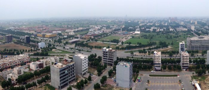 Aerial View of Bahria Town