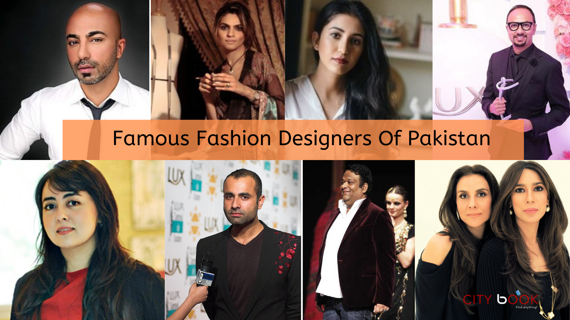 Top 10 Famous Fashion Designers Of Pakistan Citybook Pk