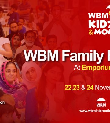 WBM Family Festival 2019 at Emporium Mall Lahore