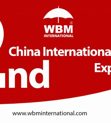 The 2nd China International Import Expo (CIIE) 2019   WBM International
