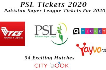How To Book Tickets For PSL 2020 in Pakistan and Overseas