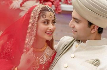 Pakistan's Most Loved Couples Sajal Ali And Ahad Raza Mir Get Married In UAE