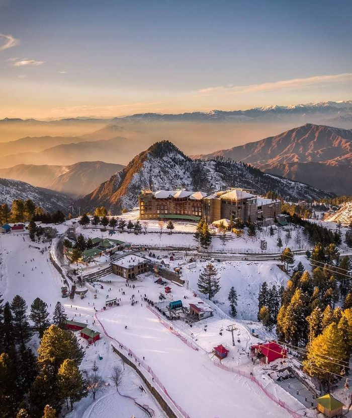 Malam Jabba places to visit in Pakistan