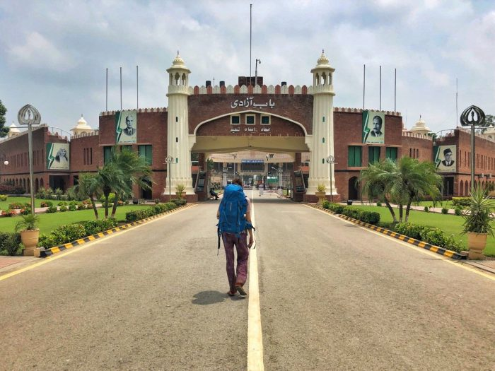 Wagah Border places to visit in Pakistan