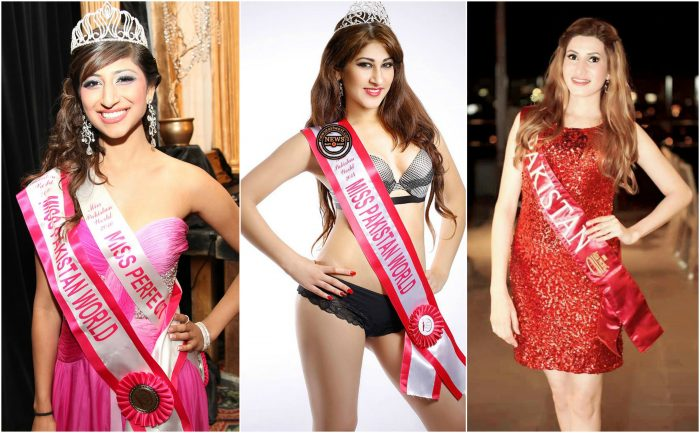 Details & Pictures Of Miss Pakistan From Last 10 Years