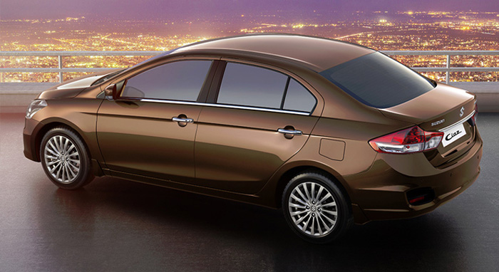 Suzuki Ciaz back and side View