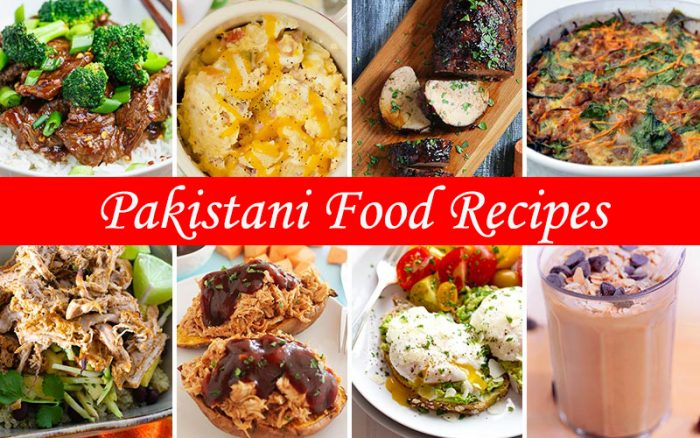 Easy And Quick Pakistani Food Recipes