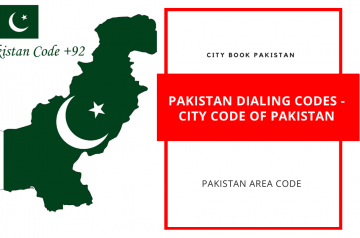 Pakistan Dialing Codes – City Code Of Pakistan