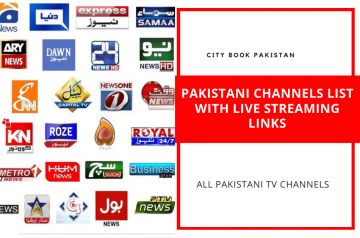 Pakistani Channels List With Live Streaming Links