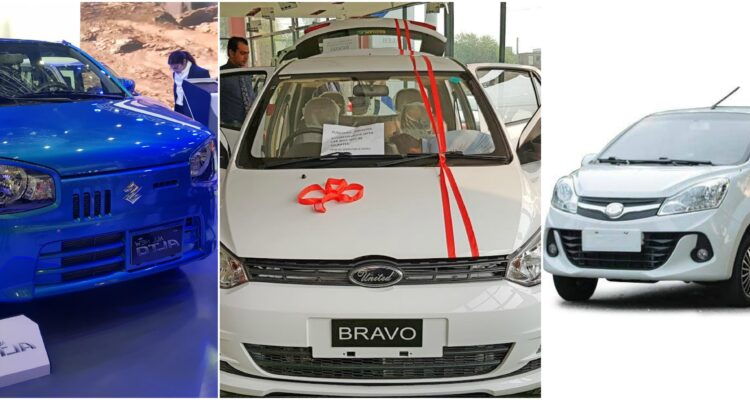 Low Budget New Cars in PakistanThat Are Available Now