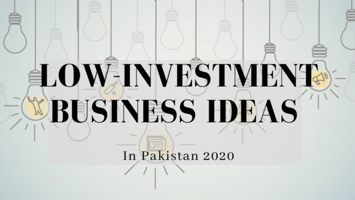 Top 10 Business In Pakistan You Can Start In Under 10k Budget