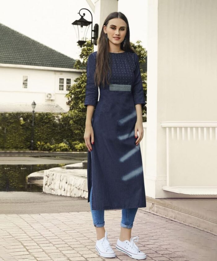 LONG SHIRT OR KURTI WITH JEANS